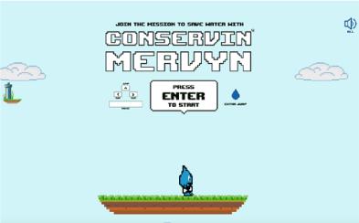 Conservin' Mervyn game screenshot