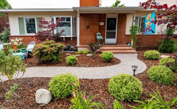 water conserving landscaping photo